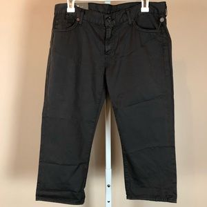 7 For All Mankind Cropped Josephine Skinny NWT 28